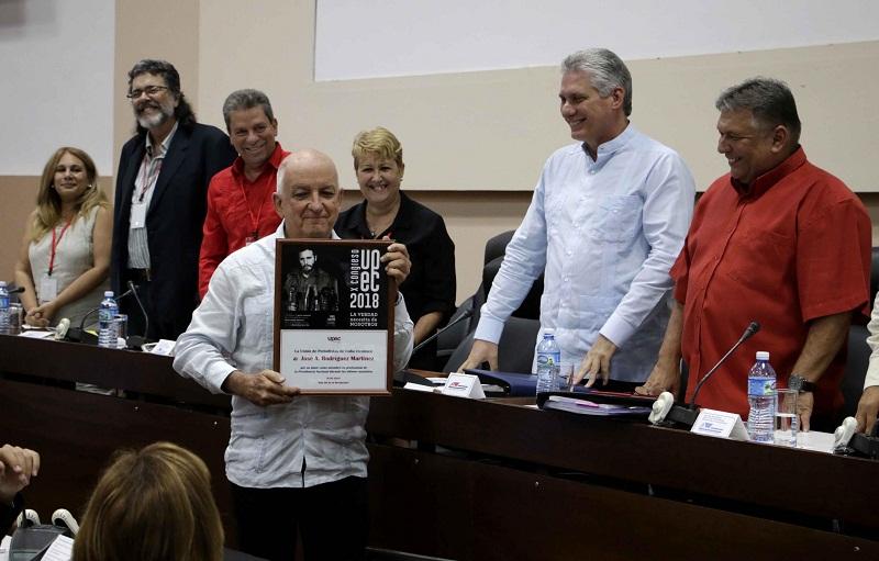 Clausura Díaz-Canel X Congreso de la UPEC