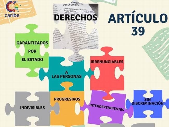 La formulación de los derechos en el Proyecto de Constitución