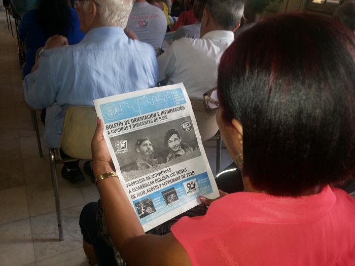 Se alistan los CDR para el IX Congreso