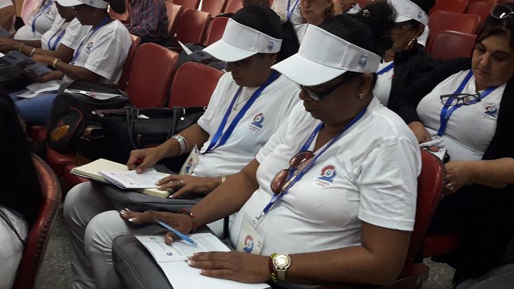 Sesiona II Conferencia Nacional del Sindicato de Hotelería y Turismo