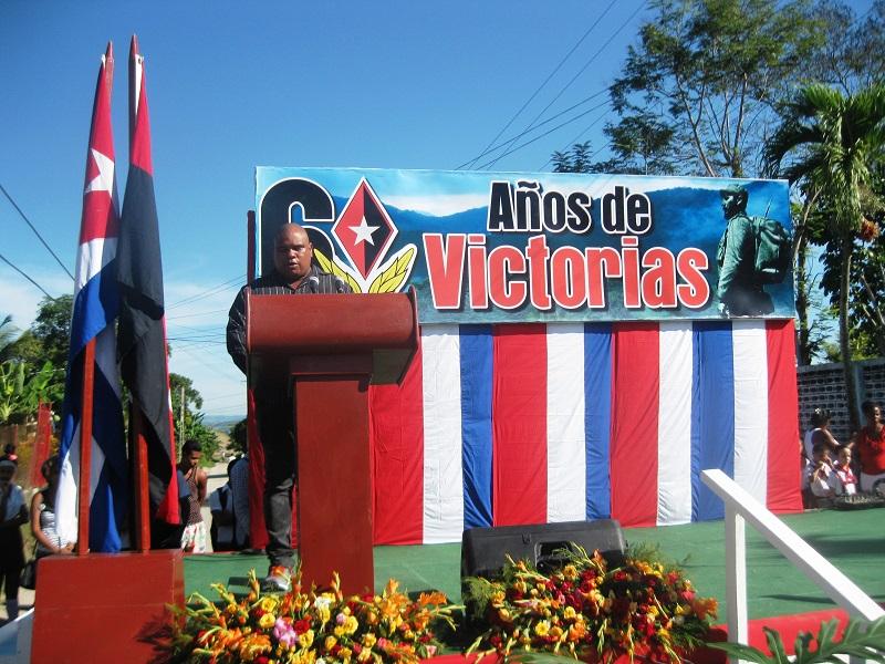 Conmemorado aniversario 60 de la liberación del poblado de El Cristo