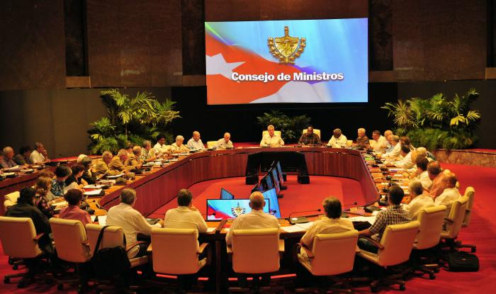 Council of Ministers analyzes performance of Cuban economy
