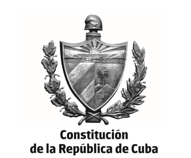 En PDF, nueva Constitución de la República de Cuba
