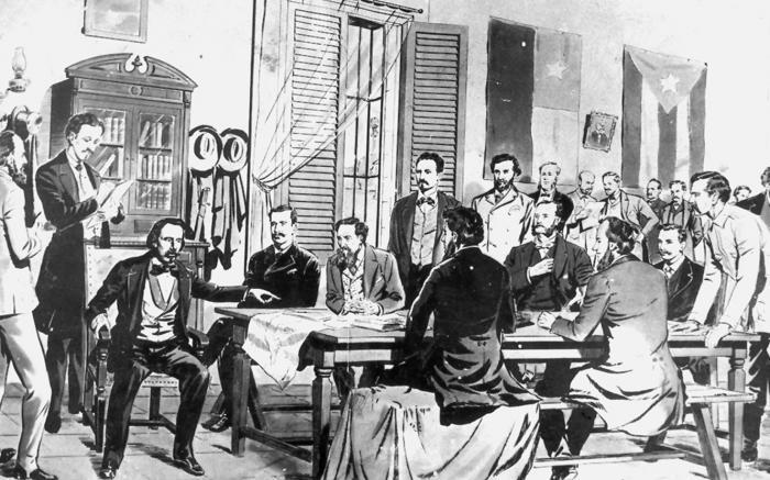 Con la primera constitución mambisa nacía la República de Cuba
