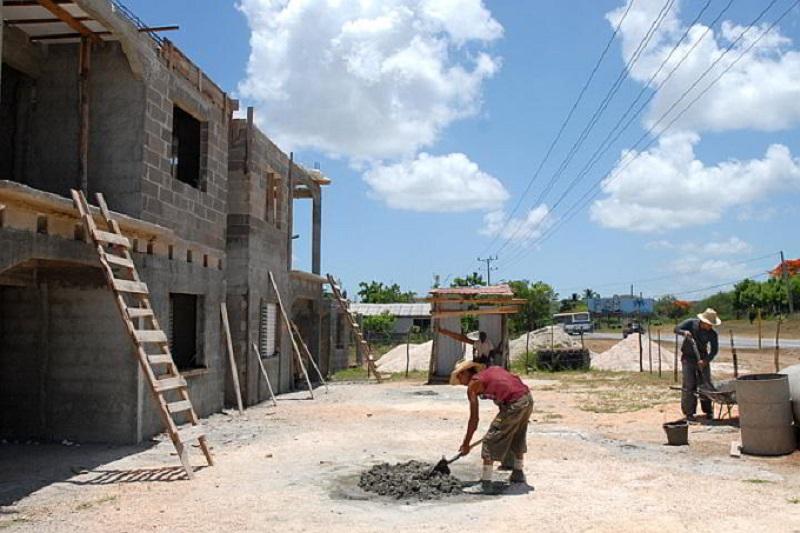 Construcción de viviendas en Bayamo