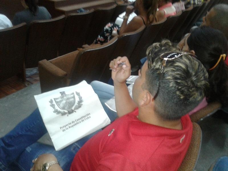 Respaldo Obrero a Proyecto de Constitución