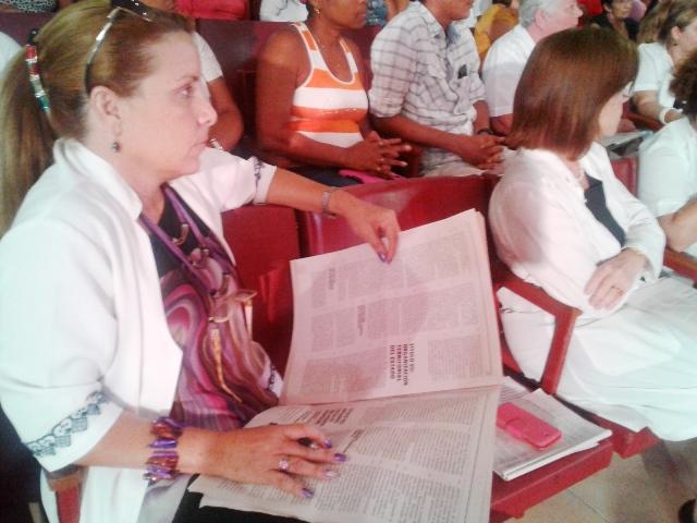 Consultan la Constitución en Universidad de Ciencias Médicas de Cienfuegos