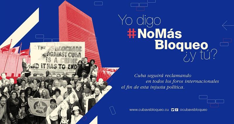 Trabajadores del mundo contra el bloqueo a Cuba