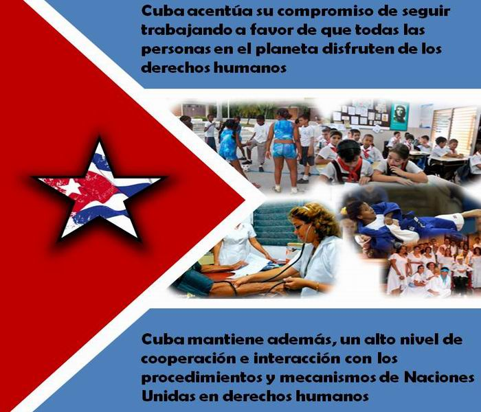 Por qué Cuba está comprometida con la defensa de los derechos humanos