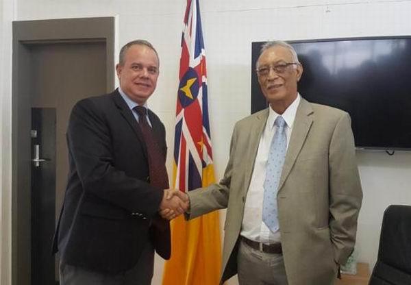Exploran gobiernos de Cuba y Niue oportunidades de cooperación