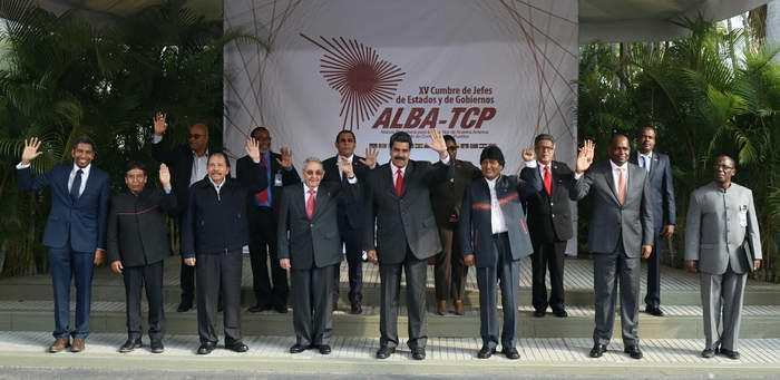 Declaration of the 15th ALBA-TCP Summit