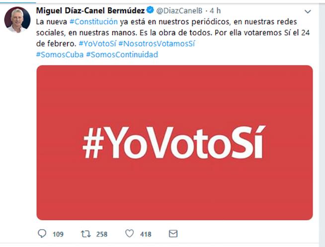 Díaz-Canel: la nueva Constitución es la obra de todos los cubanos