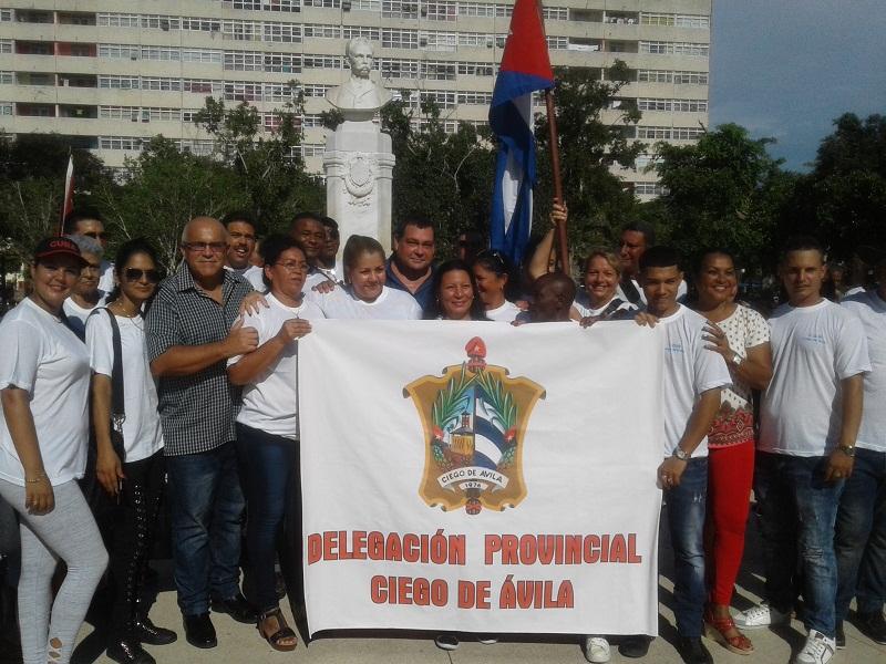 Constituida delegación avileña al IX Congreso de los CDR