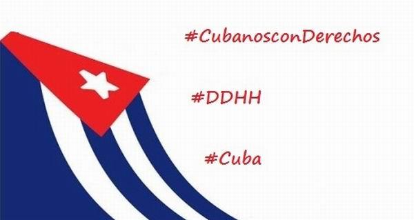 Este domingo tuitazo en Cuba por Día de los Derechos Humanos
