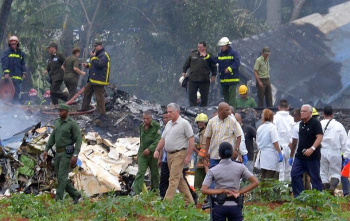 President Miguel Díaz-Canel Regrets Tragic Air Accident in Cuba