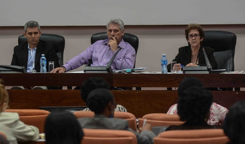 Diaz-Canel: Illegalities are incompatible with the present and tuture of the country