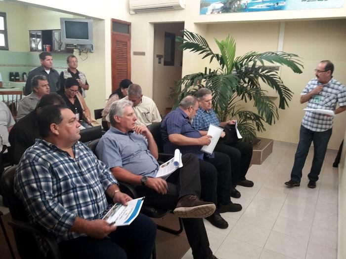 Diaz-Canel makes government visit to Ciego de Ávila