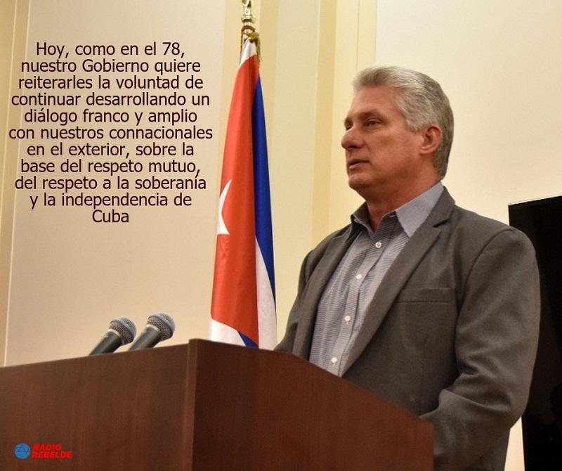 """""""Contamos con ustedes, somos Cuba"""""""