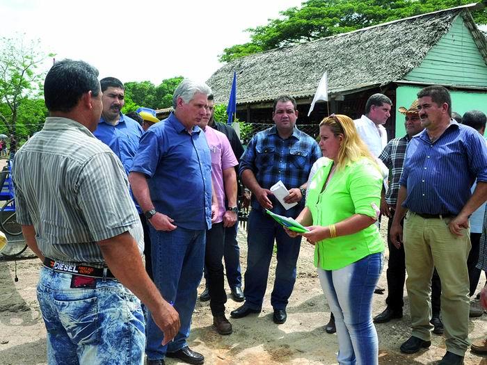 Presidente Díaz-Canel felicita a los campesinos cubanos en su día