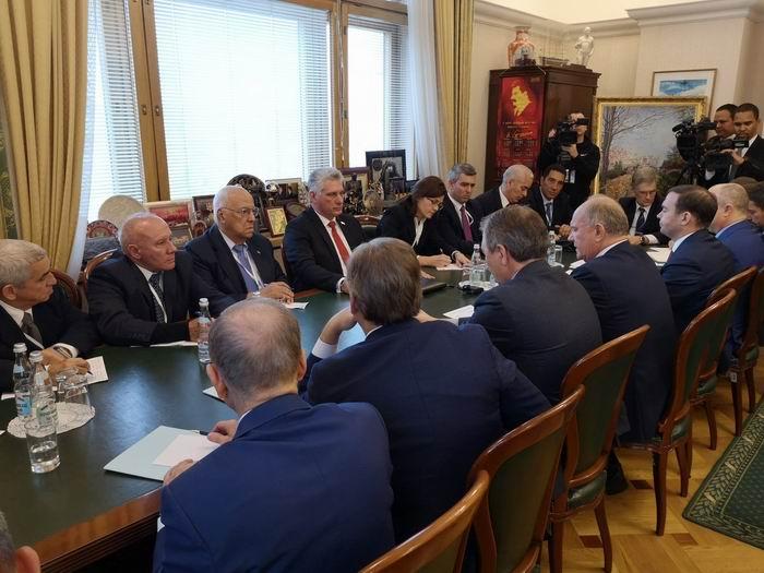 Realiza Díaz-Canel amplio programa de actividades en Rusia
