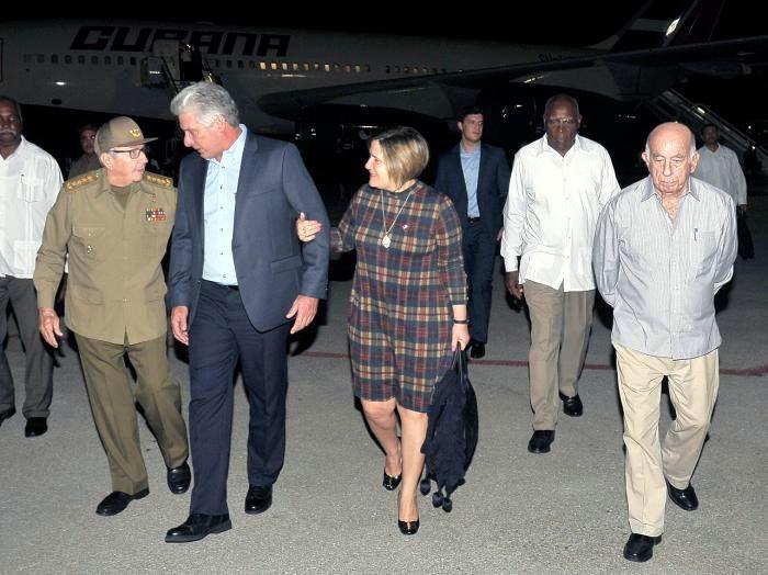Recibió Raúl Castro a Díaz-Canel