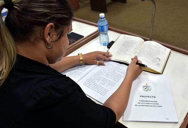 Reforma Constitucional en Cuba: desafío de toda la nación. Foto: Reforma Constitucional en Cuba: desafío de toda la nación. Foto: Jorge Luis Beker
