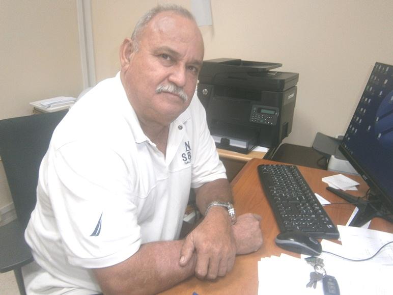 Director Territorial de la Empresa de Telecomunicaciones de Cuba Sociedad Anónima (ETECSA) en Cienfuegos, Luis Manuel Antuña. Foto de la autora