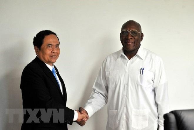 Recibe Primer Vicepresidente cubano a dirigente vietnamita
