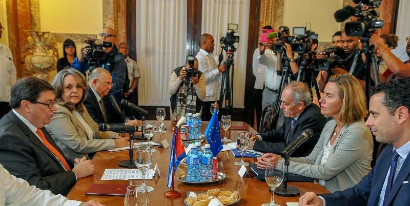 """""""Cuba está abierta a una nueva etapa de relaciones con la Unión Europea"""""""