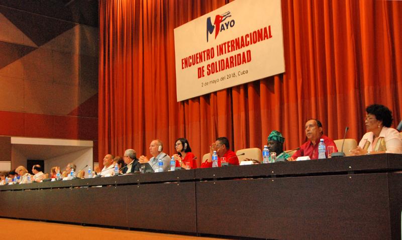 Un encuentro en La Habana por la solidaridad internacional