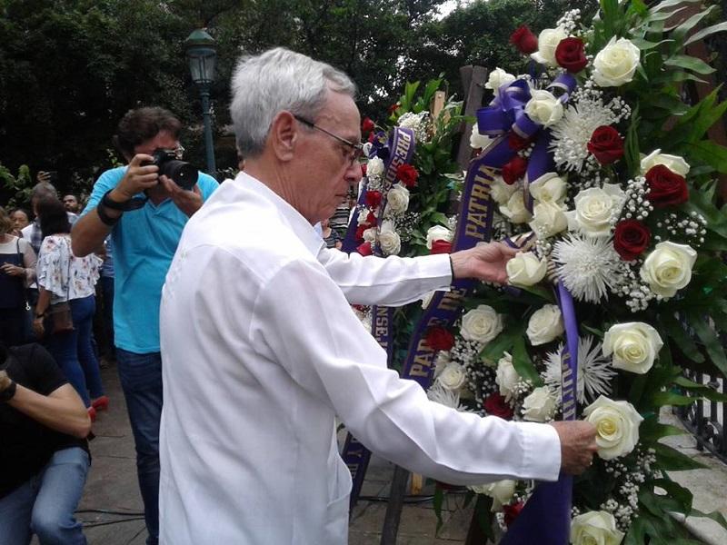 Recuerdan  en la Habana  aniversario 150 del inicio de las guerras por la independencia de Cuba
