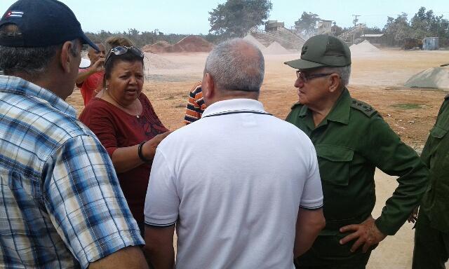 Comprueba Espinosa Martín, recuperación en Guantánamo