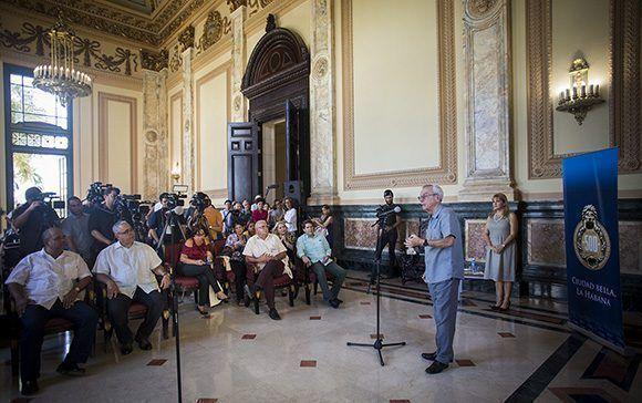 Anuncian culminación del Capitolio por 500 años de La Habana