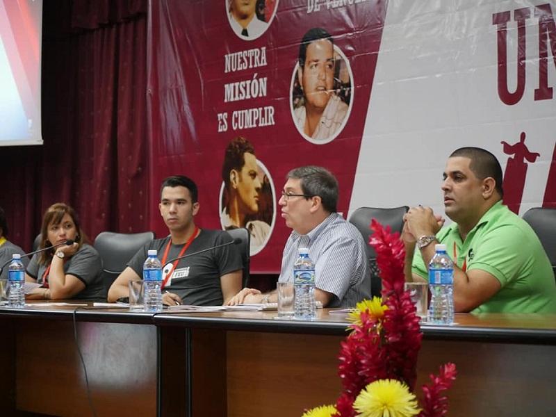 Dialoga Canciller cubano con estudiantes universitarios (+Audios)