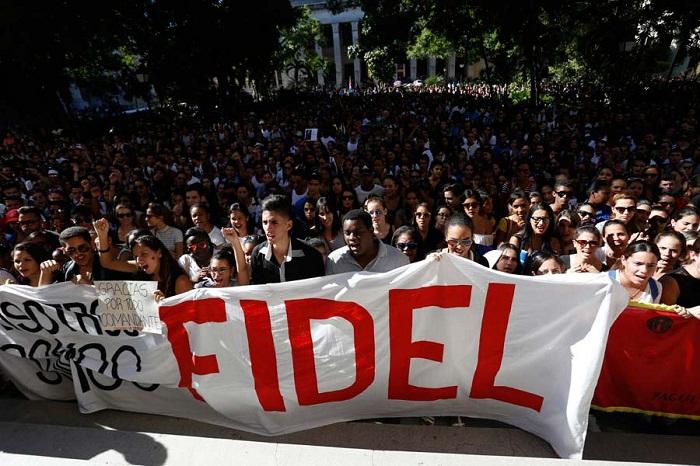 Fidel Castro: Tener un lugar en el mundo (+Audio)