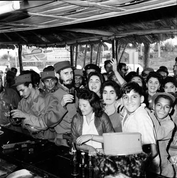 Llegó Fidel a Pinar
