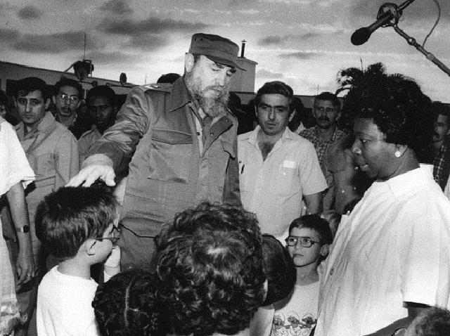 Fidel Castro: Las escuelas son motivo de alegría (+Audio)