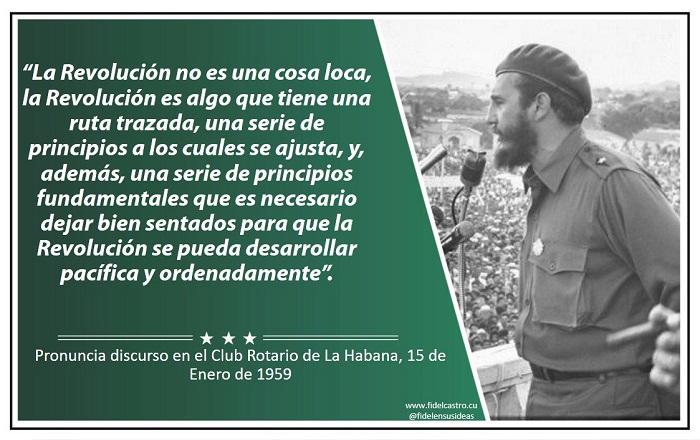 Fidel Castro: Un futuro de hombres de ciencia (+Audio)