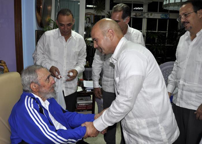 Fidel Castro: Fui feliz durante horas (+Audio)