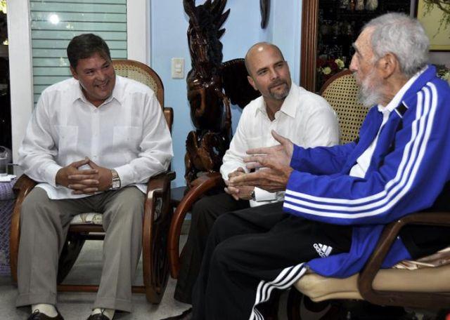 Fidel Castro: El mejor homenaje a la madre de un Héroe (+Audio)