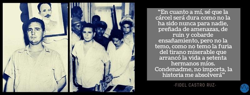 La entereza de Fidel en el juicio del Moncada