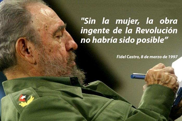 Fidel Castro El Papel De La Mujer Cubana Audio