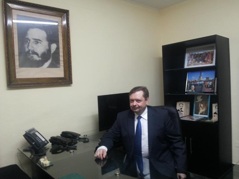 Intercambio profesional entre fiscales bielorrusos y cubanos