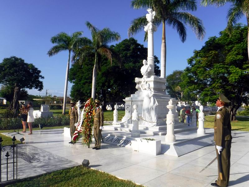 Homenaje a Carlos Manuel de Céspedes