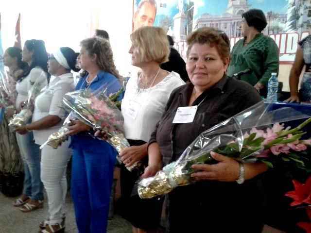 Mireya Molina Castellanos fue ratificada como Secretaria General del nuevo Comité y Secretariado Provincial de la FMC