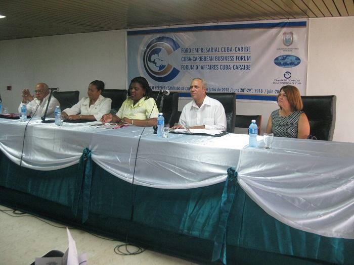 En Santigo de Cuba, segundo Foro Empresarial Cuba-Caribe (+Fotos)