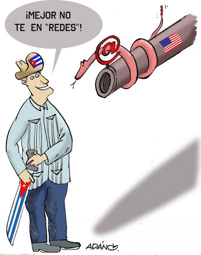 ¿Qué persigue la Fuerza Operativa en Internet contra Cuba?