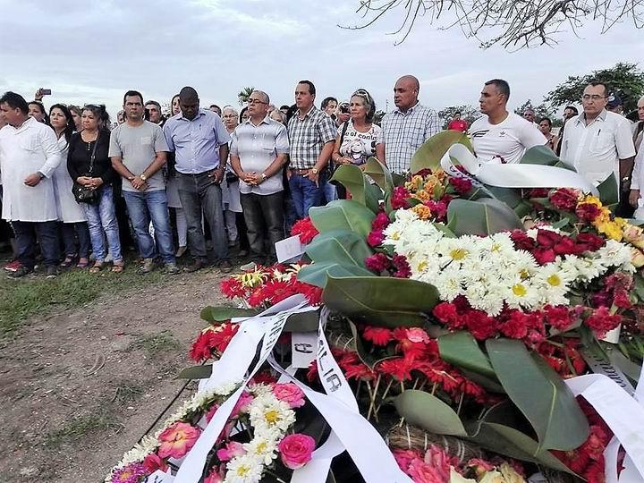 Funerales en Holguín del Doctor Jorge Alberto Borrego