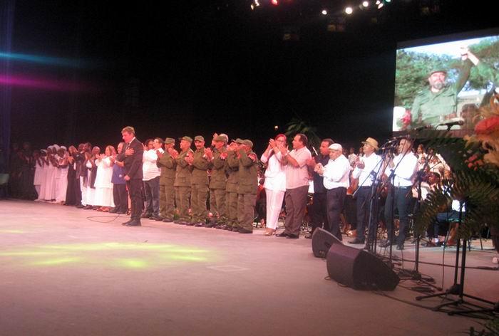 Canciones y poemas para el Comandante en Jefe Fidel Castro