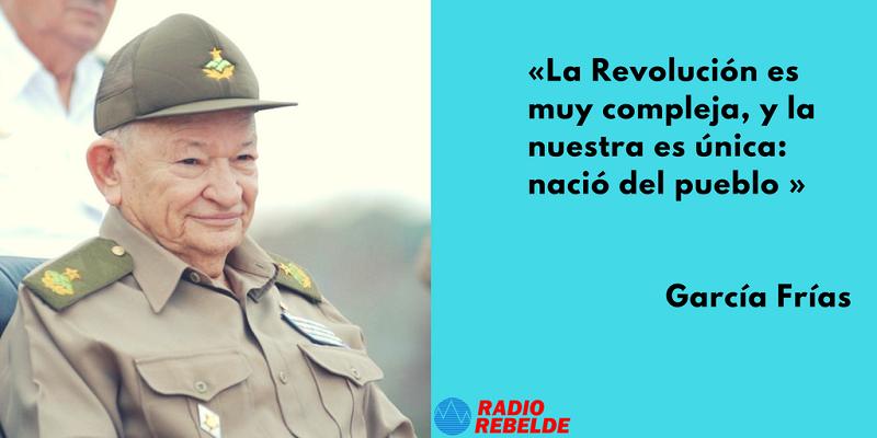 Guillermo García Frías: un protagonista de la historia de Cuba